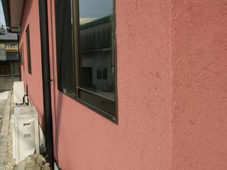 医院外壁改修-藁スサ